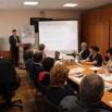 О своей программе депутатам рассказывает действующий глава округа Евгений Писцов.JPG