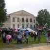 Празднования прошли в центре посёлка, возле местной школы.JPG